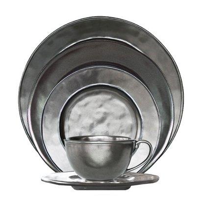 (Pewter Stoneware Collection By Juliska - Stoneware - Pewter 5pc Setting (1))