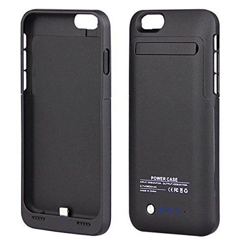 72f5de906c7 Funda Cargador Externo iPhone 6 Plus/6s Plus - Negro: Amazon.com.mx ...