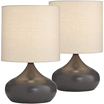 Mid Century Modern Accent Table Lamps 14 3 4 Quot High Set Of