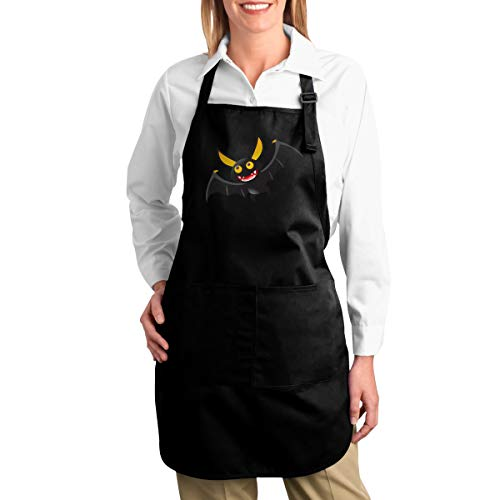 Halloween Bat Utility Activity Toolbelt Work Best Mini Prime Supply Customize Smocks Adjustable No-tie Canvas Waist Cooking Apron with Pockets for Kids Teacher