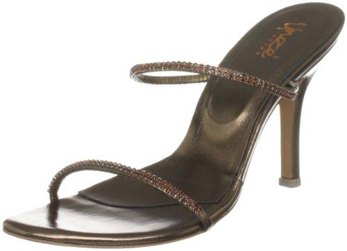 Unze Evening Sandals L18516W - Sandalias para mujer Marrón