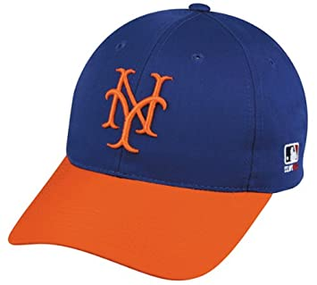 half off 8223a 4eecc New York Mets Adult Cooperstown Throwback Retro Officially Licensed MLB  Adjustable Velcro Baseball Hat NY Mets Ball Cap  Amazon.ca  Sports    Outdoors