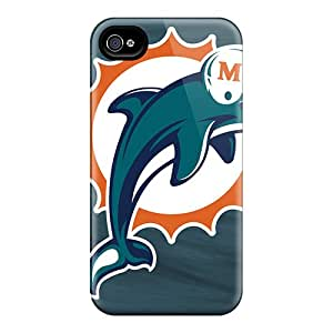 QBT244scDH Kevor Miami Dolphins Feeling Iphone 4/4s On Your Style Birthday Gift Cover Case