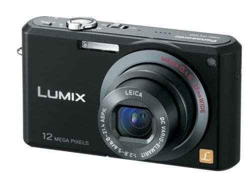 Panasonic デジタルカメラ LUMIX (ルミックス) FX100 ブラック DMC-FX100-K