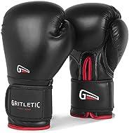 Gritletic Boxing & MMA Training Gloves - Supreme Boxing Gloves for Men & Women. 8,10,12,14 & 16oz