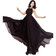 MedeShe Women's 2017 Holiday Beach Maxi Dress Plus Size Wedding Bridesmaid Dress