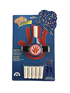 FiestaFive - Confetti High Five Shooter with 6 Refills (Red-White-Blue)