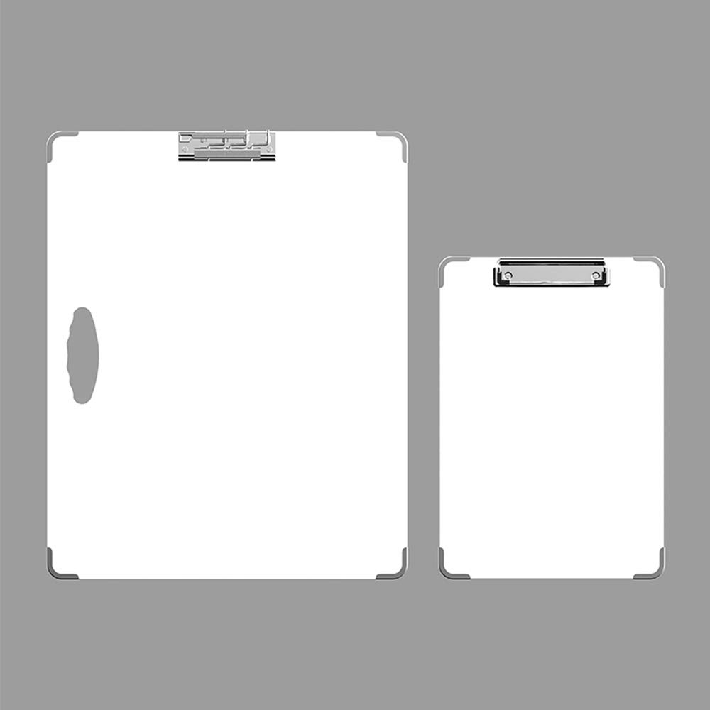 Isketch Two Pieces Ultra-Light Drawing Boards,Anti-Collision Artist Sketch Tote Board - Indoor and Outdoor (18''x14.5'',13''x9'') (White)