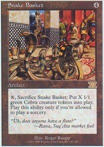 Magic The Gathering - Snake Basket - Sixth Edition