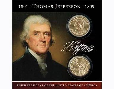 "2007 Presidential Dollar Coins /""Thomas Jefferson/"" Uncirculated /"""