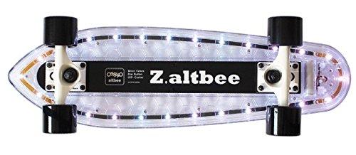 Price comparison product image Altbee Desire Minicruiser LED Skateboard, Black