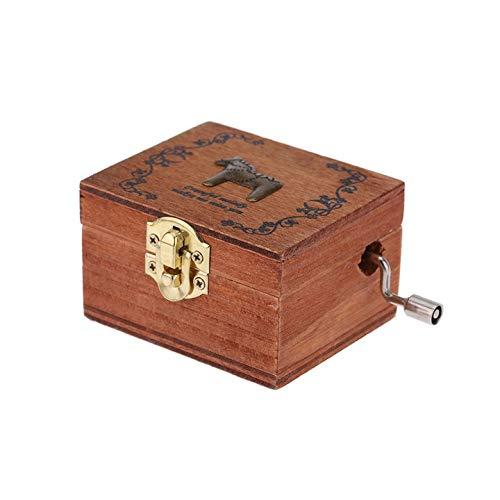 美品  AgoHike AgoHike クラシックオルゴール ビンテージホームデコレーション クラシカルな正方形木製ハンドクランク 絶妙なレトロオルゴール ギフト(木製) ギフト(木製) B07NJHG54K B07NJHG54K, 黒毛和牛卸問屋 阿波牛の藤原:99809935 --- arcego.dominiotemporario.com