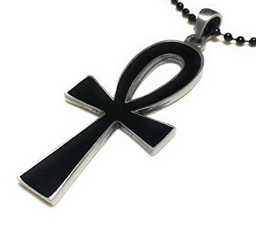 Ankh Pewter Necklace - 1