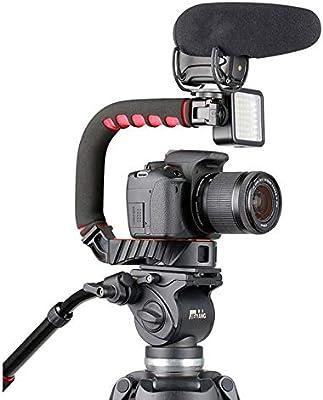 U-Grip - Soporte triple para cámara réflex digital Sony, con mango ...