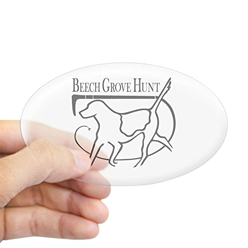 CafePress - Beech Grove Hunt Oval Sticker - Oval Bumper Sticker, Euro Oval Car Decal