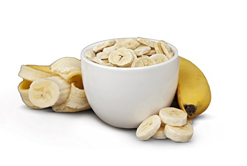 Freeze Dried Banana Slices – Healthy Fruit Snacks – Perfect For Camping, Emergency Preparedness, And Snacking – By Valley Food Storage (3.5 Cups)