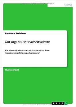 Book Gut organisierter Arbeitsschutz