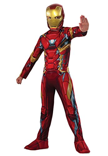 Children's Iron Man Costume (Rubie's Costume Captain America: Civil War Value Iron Man Costume, Small)