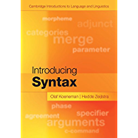 Introducing Syntax (Cambridge Introductions to Language and Linguistics) (English Edition)