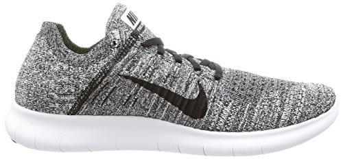 Nike Heren Gratis Rn Flyknit Loopschoen Zwart / Wit 14