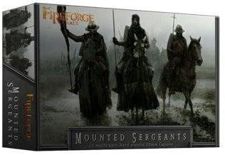 Deus Vult: Mounted Sergeants by Historical Miniatures Fireforge Games: Amazon.es: Juguetes y juegos