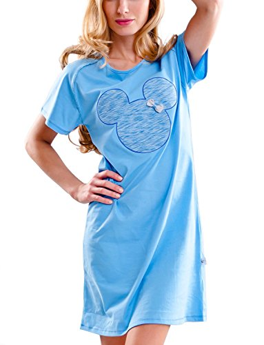 dn-nightwear - Camisón - para mujer Cielo Azul