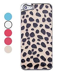 Leopard Grain Skin Pattern Back Case for iPhone 5(Assorted Colors) --- COLOR:2