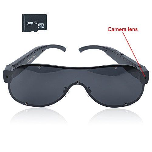Toughsty™ 8GB 1920x1080P HD Sunglasses Hidden Camera Eyewear Video Camcorder with Audio Function