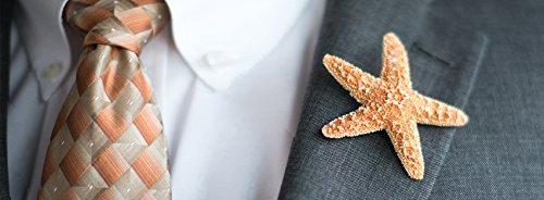 Hinterland Trading Sugar Starfish Boutonniere