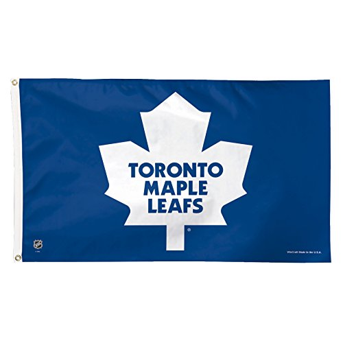 (WinCraft NHL Toronto Maple Leafs Deluxe Flag, 3 x 5', Multicolor )