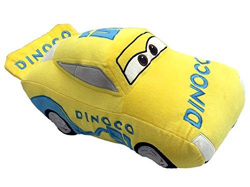 Disney/Pixar Cars 3 Movie Cruz Ramirez Yellow Racecar Plush 16
