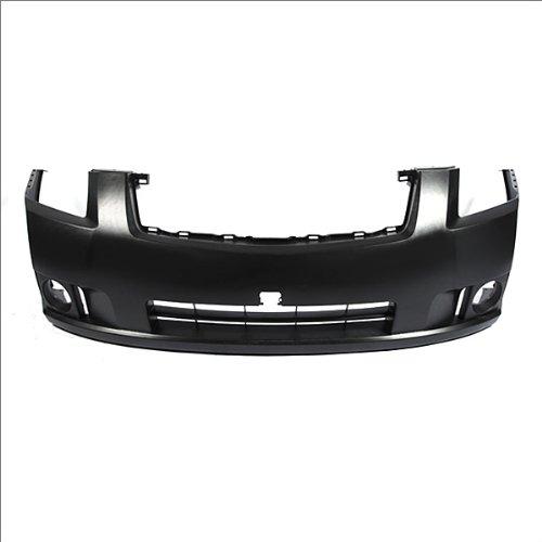 CarPartsDepot 352-36883-10-PM FRONT BUMPER COVER PRIMERED BLACK W/FOG HOLE NI1000241