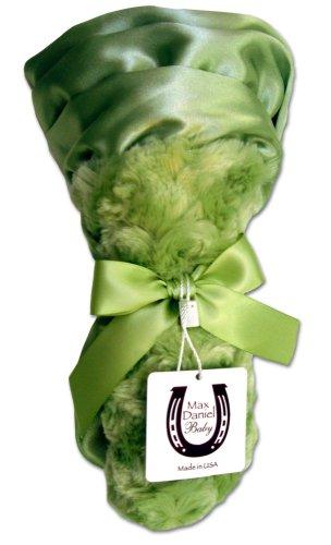 Max-Daniel-Baby-Rosebuds-and-Satin-Security-Blanket-Celery