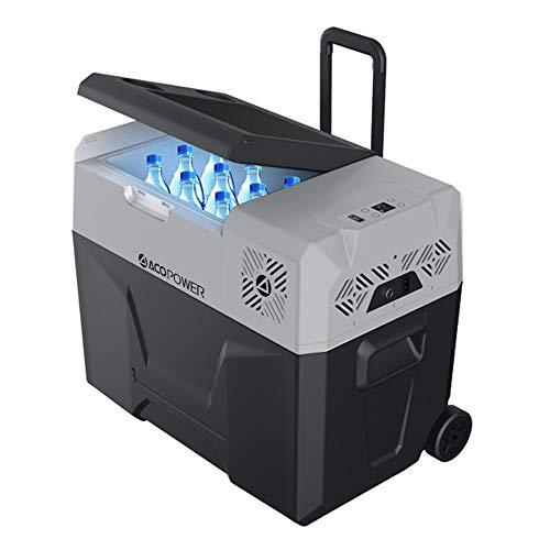 ACOPOWER P40 DC12V Compressor Fridge/Cooler Portable 42 Quart Freezer for Camping, RV, Boat, P-Basic (No Battery Design)