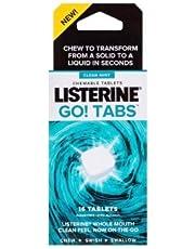 Listerine Go Tabs 16 Per Pack