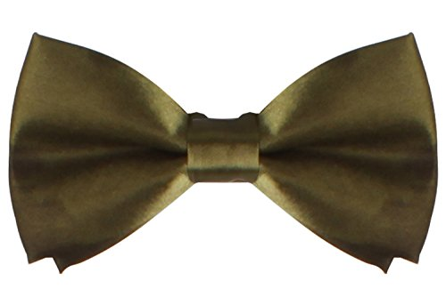 Infant Green Olive Costume (WDSKY Infant Baby Bow Ties for Boys Girls Toddler Tuxedo Bowties Olive)