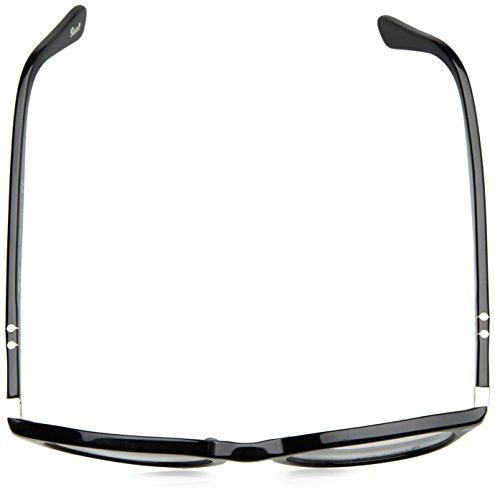 ... Persol Montures de lunettes 3122 Dark Grey Gradient Green-Brown, 48mm  Black de9ff21566b7