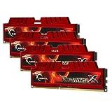 G.Skill RipjawsX Series F3-12800CL9Q-16GBXL 16GB (4 x 4GB) 240-pin DDR3 1600MHz (PC3 12800) Desktop Memory Module
