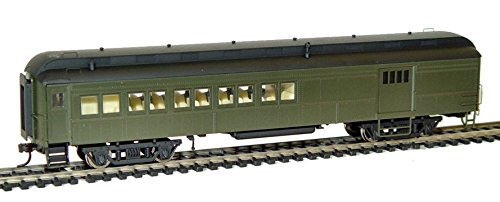 Rivarossi HO Scale Pullman 60' Combine Unlettered Train