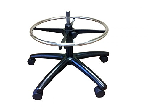Conversion Chair Base Kit for Aeron Chair to Aeron Stool (Casters for Carpeted Floors) ()