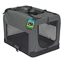 Guardian Gear ZA411 40 Nylon and Steel Soft-Sided Collapsible Dog Crate
