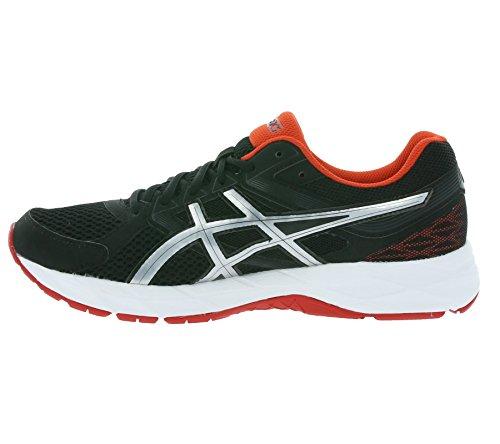 ASICS Gel-Contend 3 - Zapatillas para hombre Nero (Black/Lightning/Vermilion