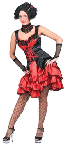 Funny Fashion Saloon Hall Sassy Adult Costume