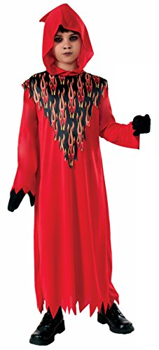Child Devil Costume Boy (Forum Novelties Devil Hooded Child Costume, Large)