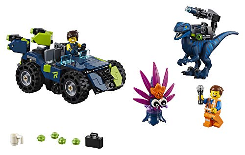 41ZGnMzjpmL - LEGO THE LEGO MOVIE 2 Rex's Rex-treme Offroader! 70826 Dinosaur Car Toy Set For Boys and Girls, Action Building Kit (230 Pieces)