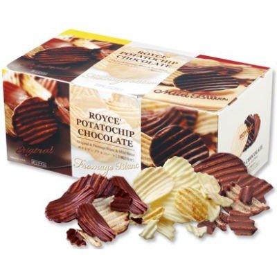 Royce Potato Chip Chocolate [Three Taste] Shipping Form Hokkaodo Japan