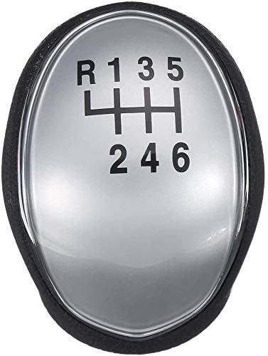 ZXAZBHD Schaltknauf F/ür Hyundai IX35 2010 2011 2012 2013 2014 2015 2016 ABS 6-Gang-Stick-Schaltknauf Schalthebel Hebel Schaltknauf