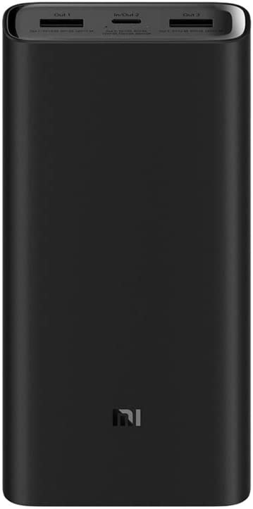 Xiaomi 3 Pro Power Bank, 20000 mAh, USB-C 45 W Power Delivery y Quick Charge 3.0
