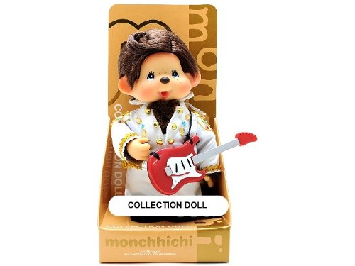 Sekiguchi Authentic Limited Edition & Collection Doll Monchhichi Elvis Presley 8'' (20 cm) . by Sekiguchi (Image #1)