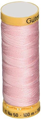 Gutermann Natural Cotton Thread 110 Yards-Light Pink (103C-5090)